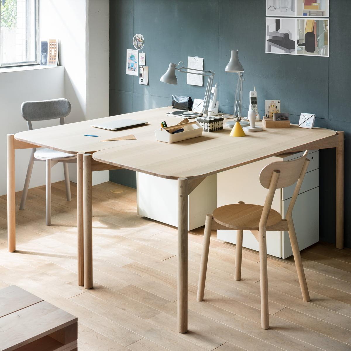Castor Table by Karimoku New Standard