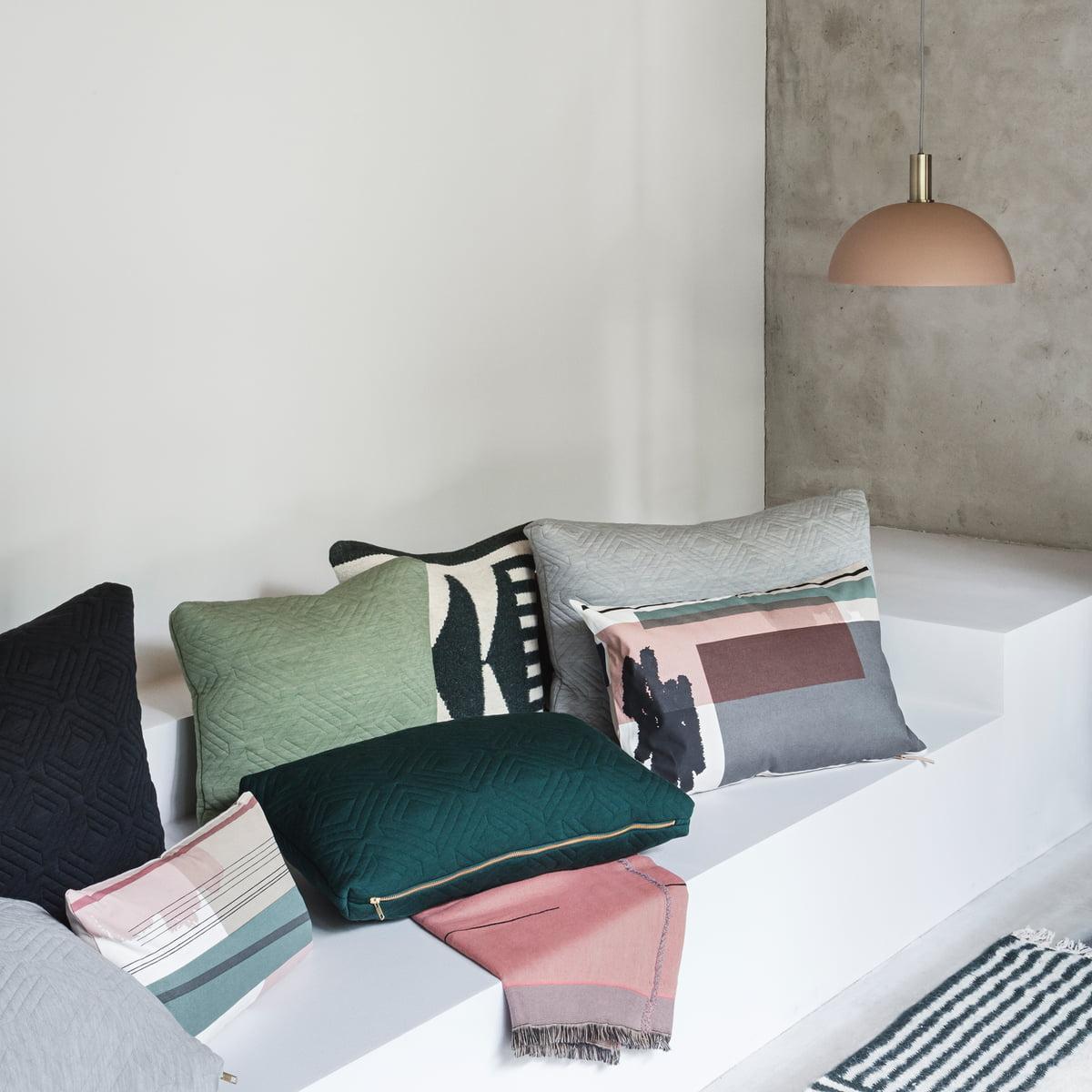 Ferm Living   Colour Block Cushion Large, 4