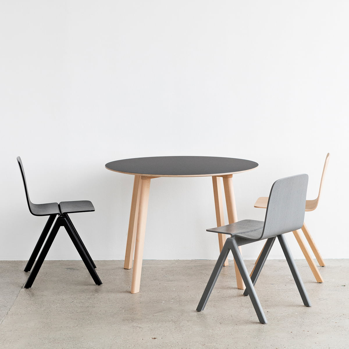 Hay Esstisch copenhague cph deux 220 table by hay in the shop