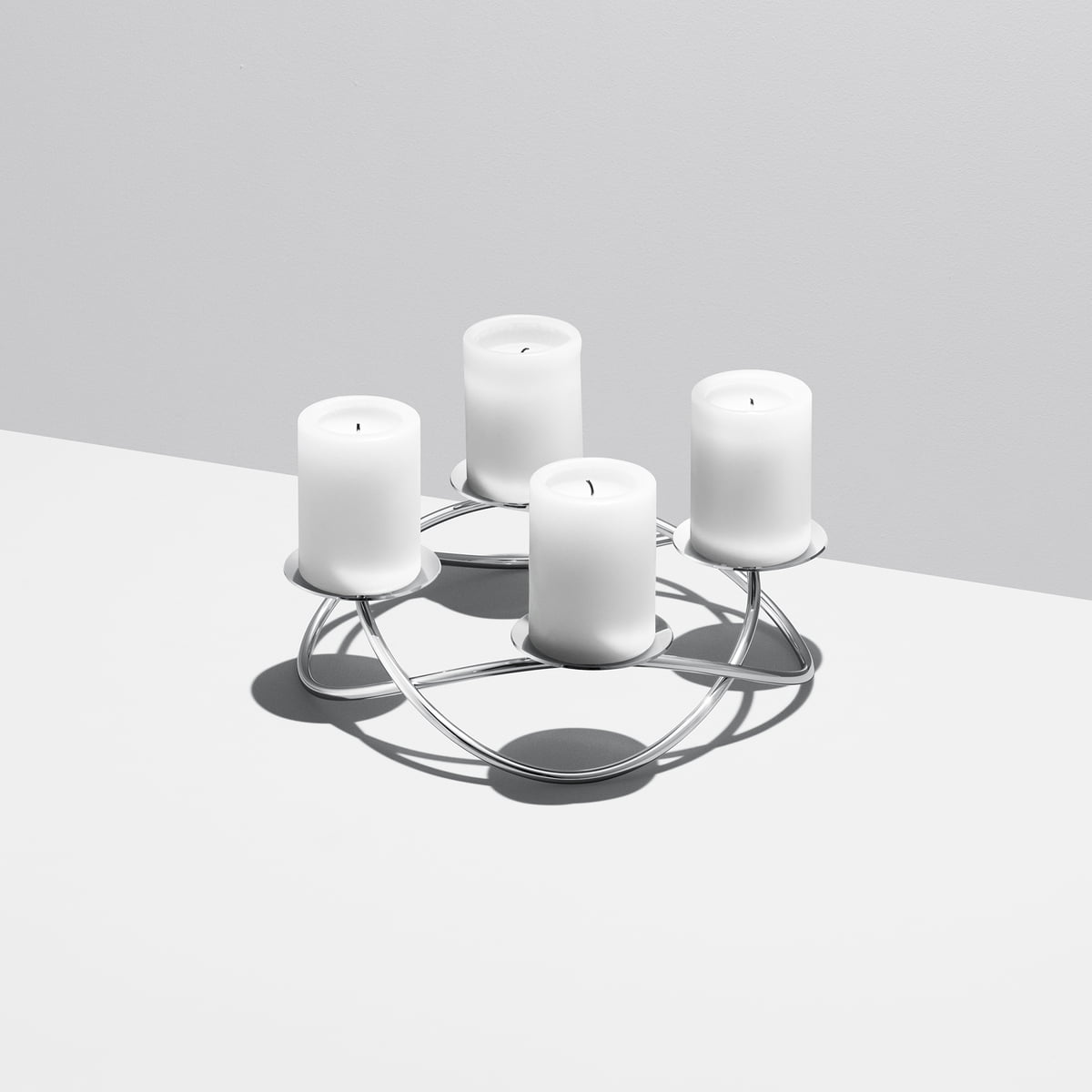 season pillar candleholder by georg jensen. Black Bedroom Furniture Sets. Home Design Ideas