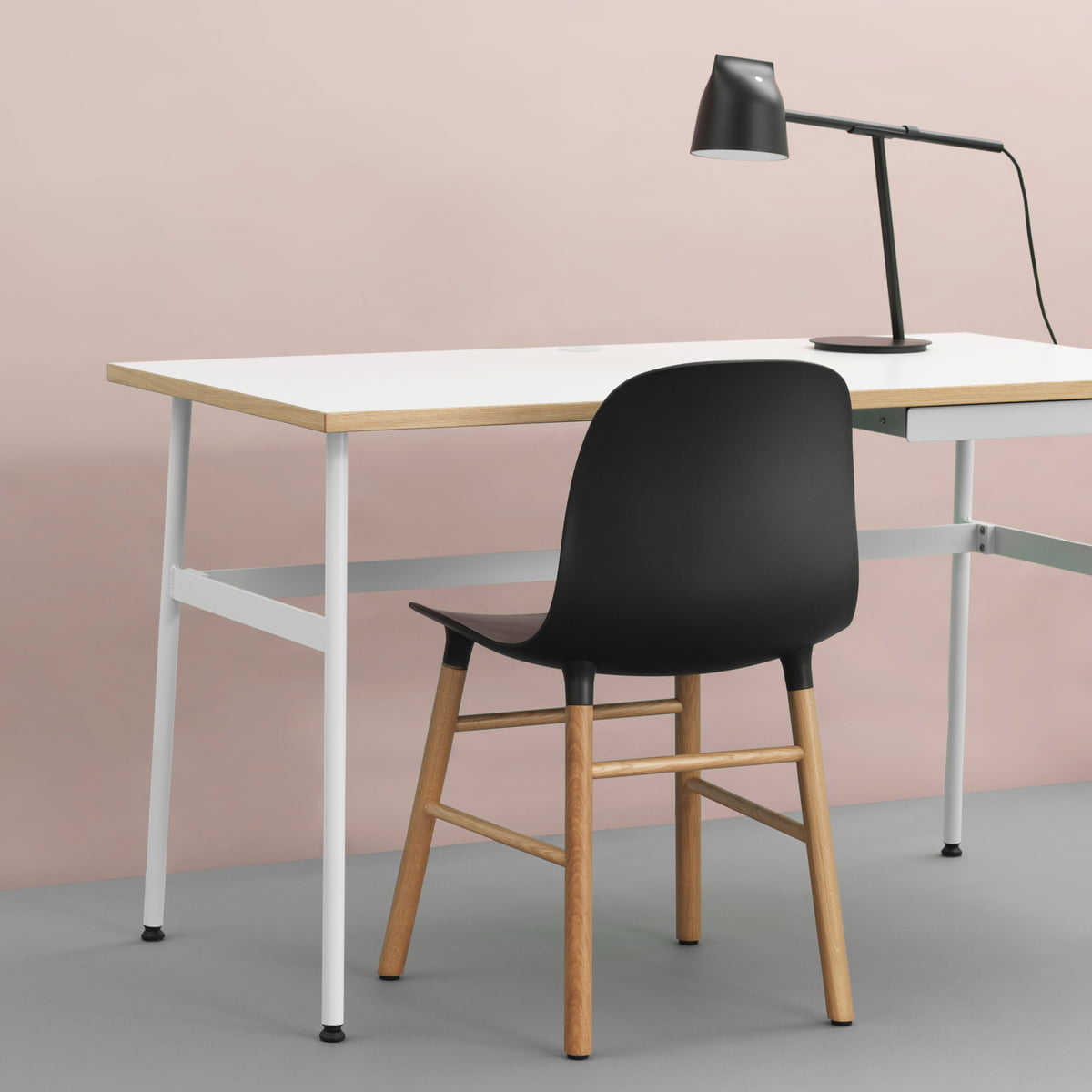 Journal Desk Momento Table Lamp And Form Chair