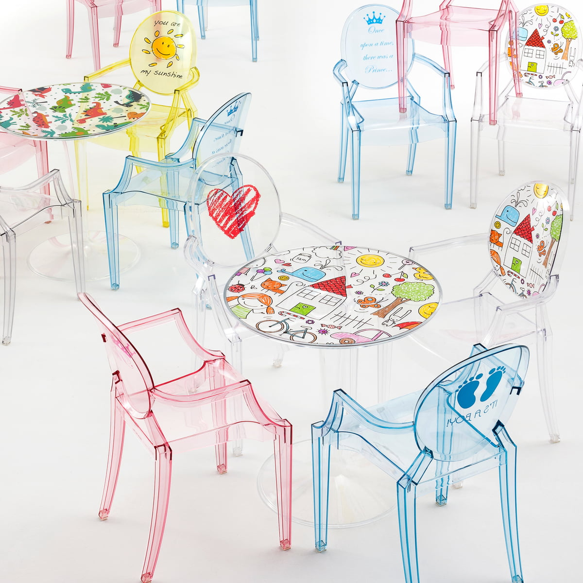 Charmant Lou Lou Ghost Special Edition And Tip Top Childrenu0027s Table By Kartell