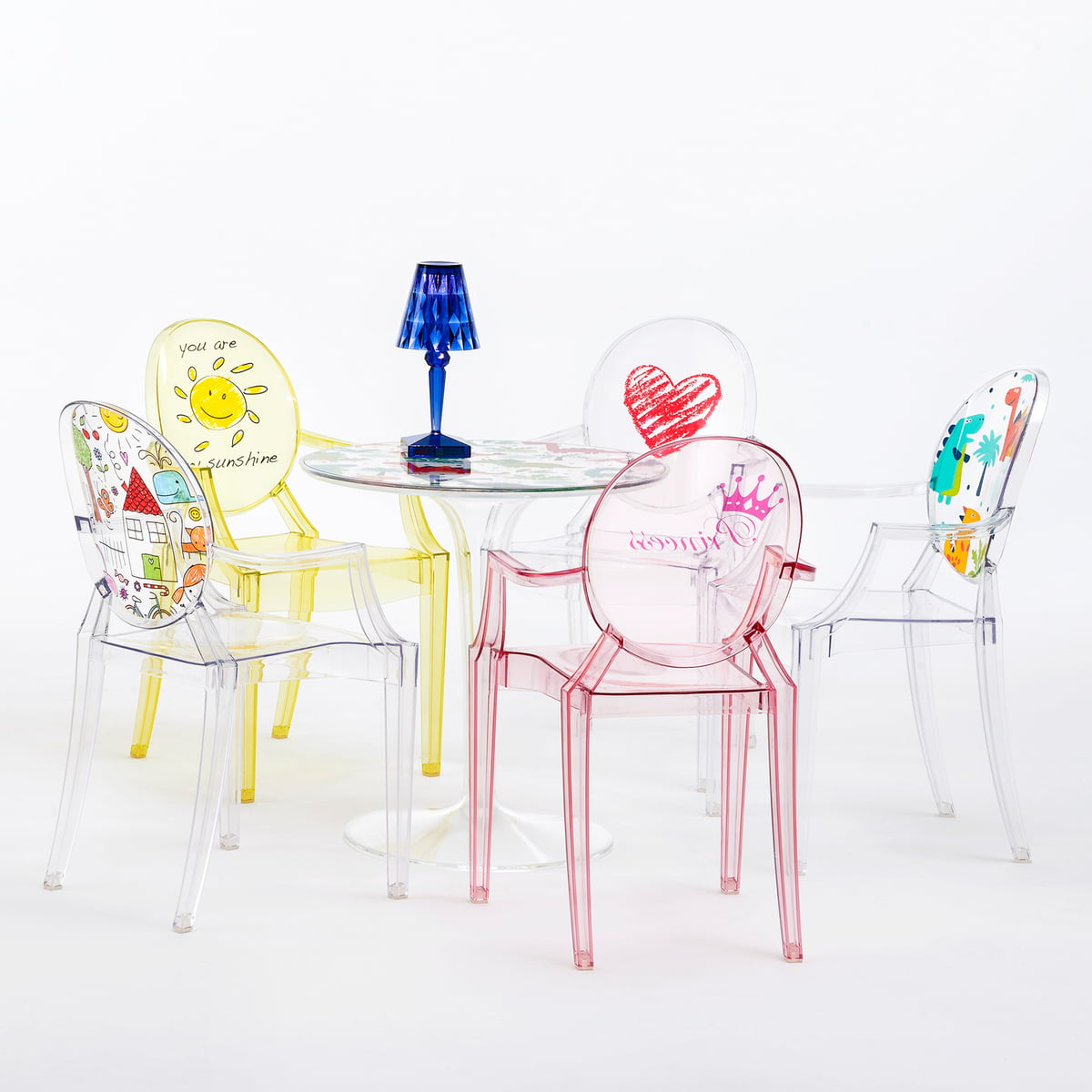 Tip top kids table from kartell connox shop for Table kartell