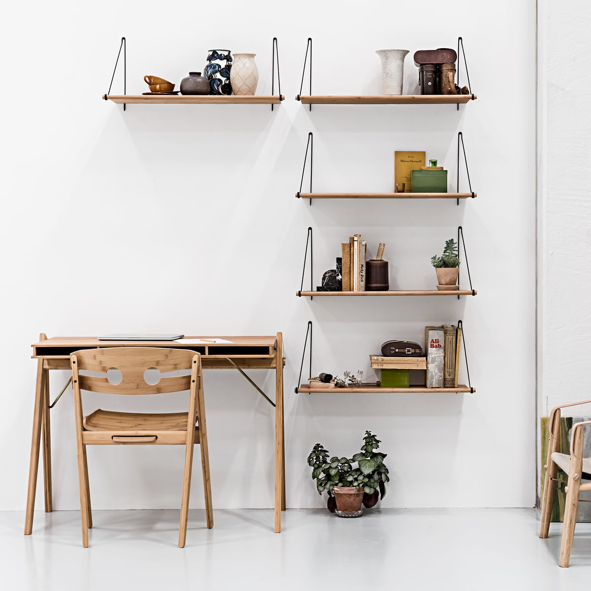 Buy The Loop Shelf By We Do Wood Connox