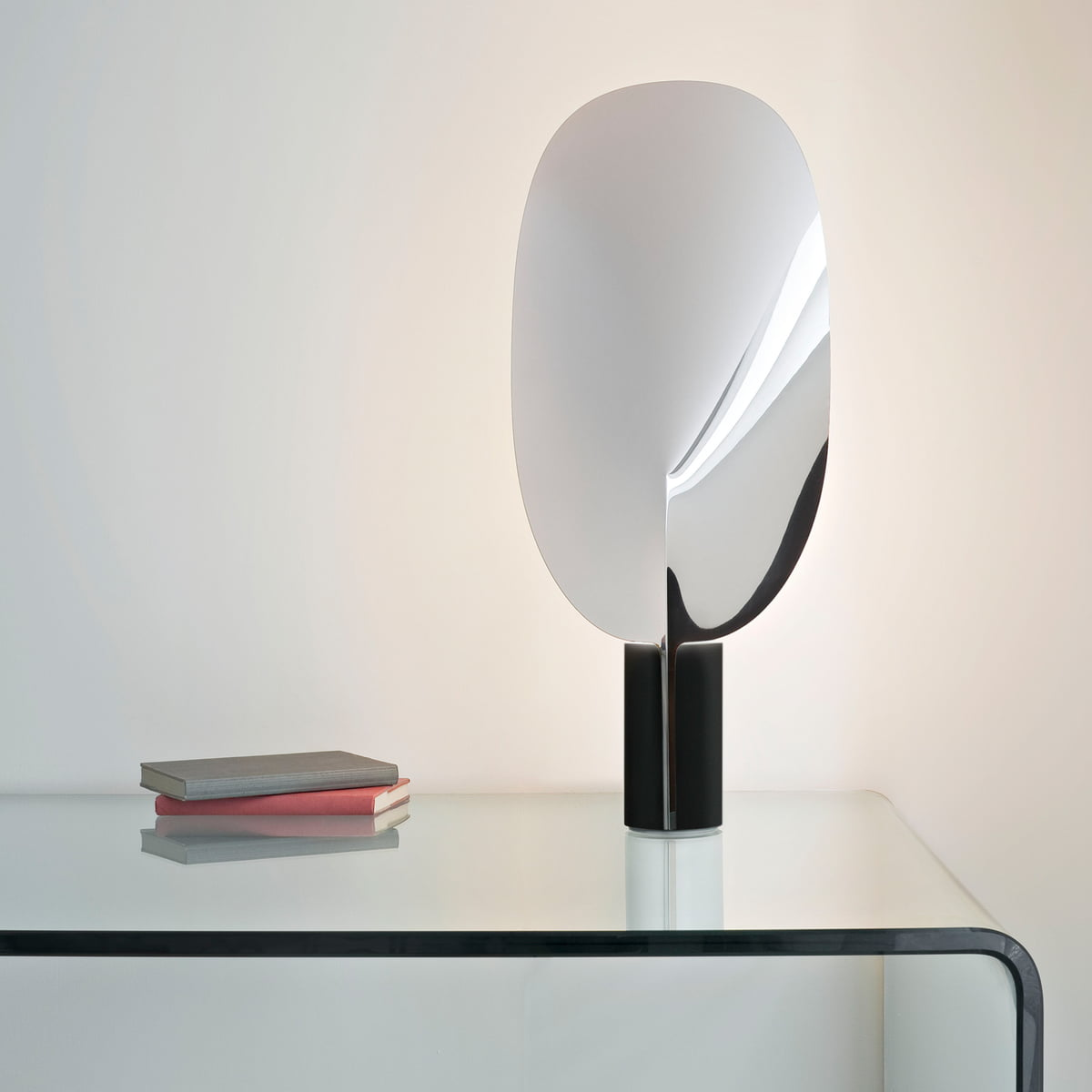 Beau The Flos   Serena Table Lamp In Aluminium