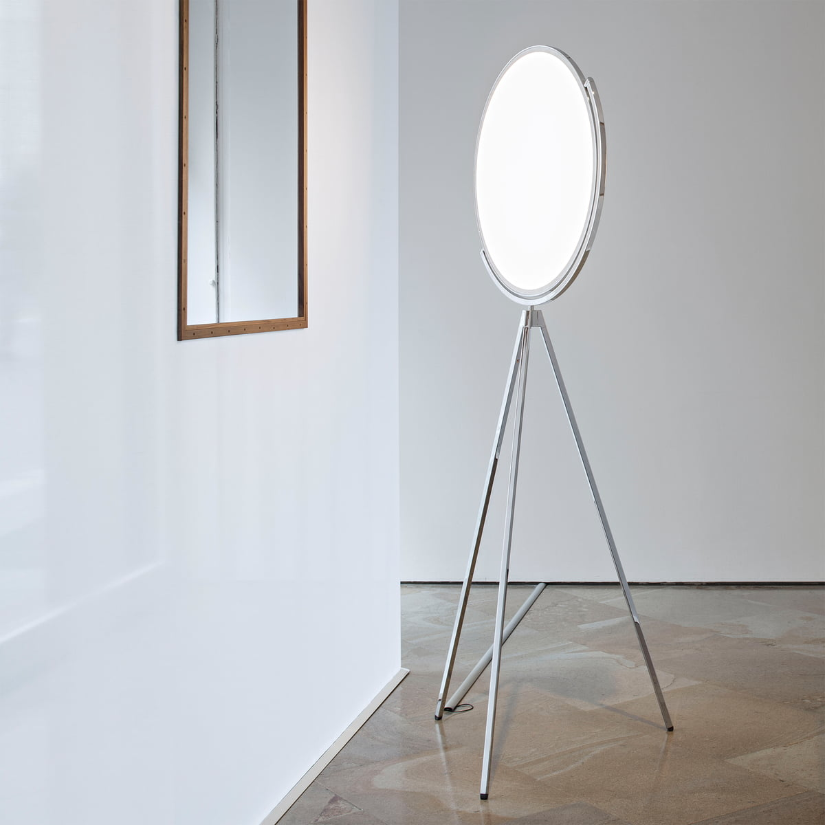 the best attitude 384ee 374e6 Flos - Superloon standard lamp, white