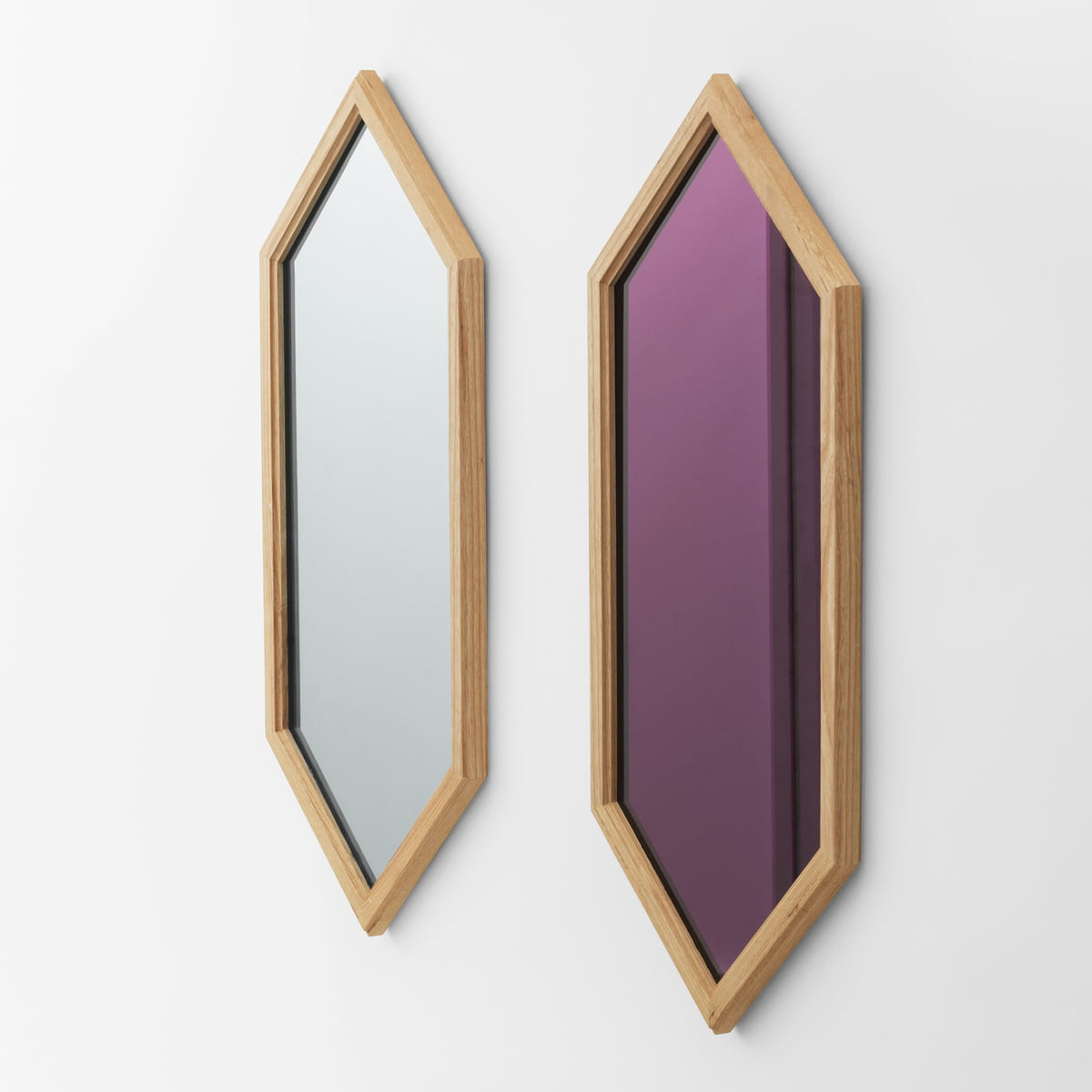 Lust mirror 70 x 29 cm by normann copenhagen for Miroir 70 x 70