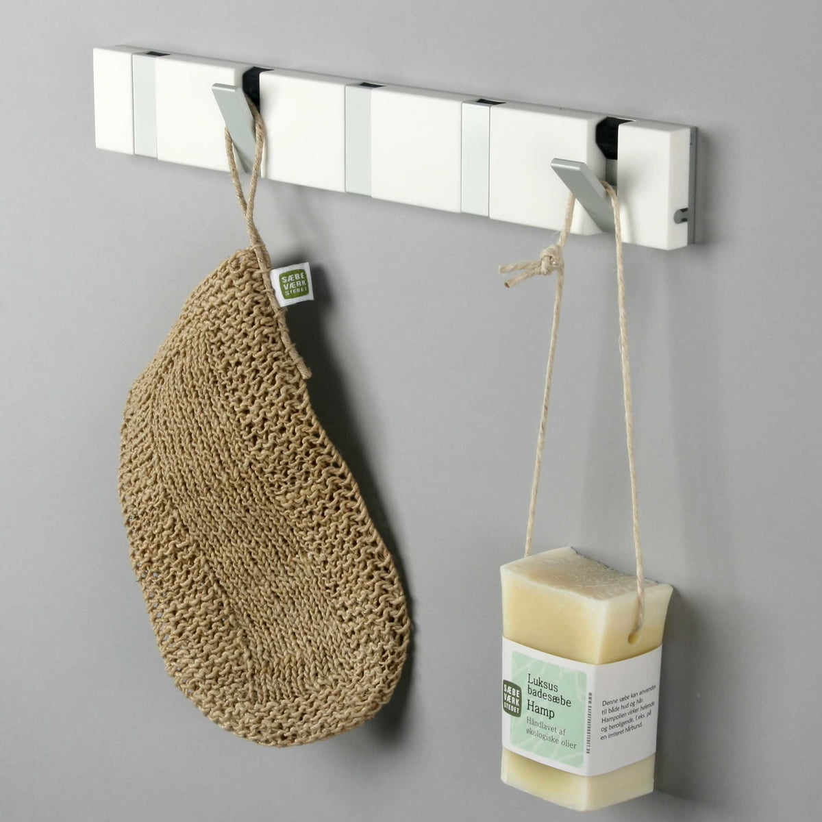 Knax Garderobe knax lite 5 coat hooks by loca in the shop