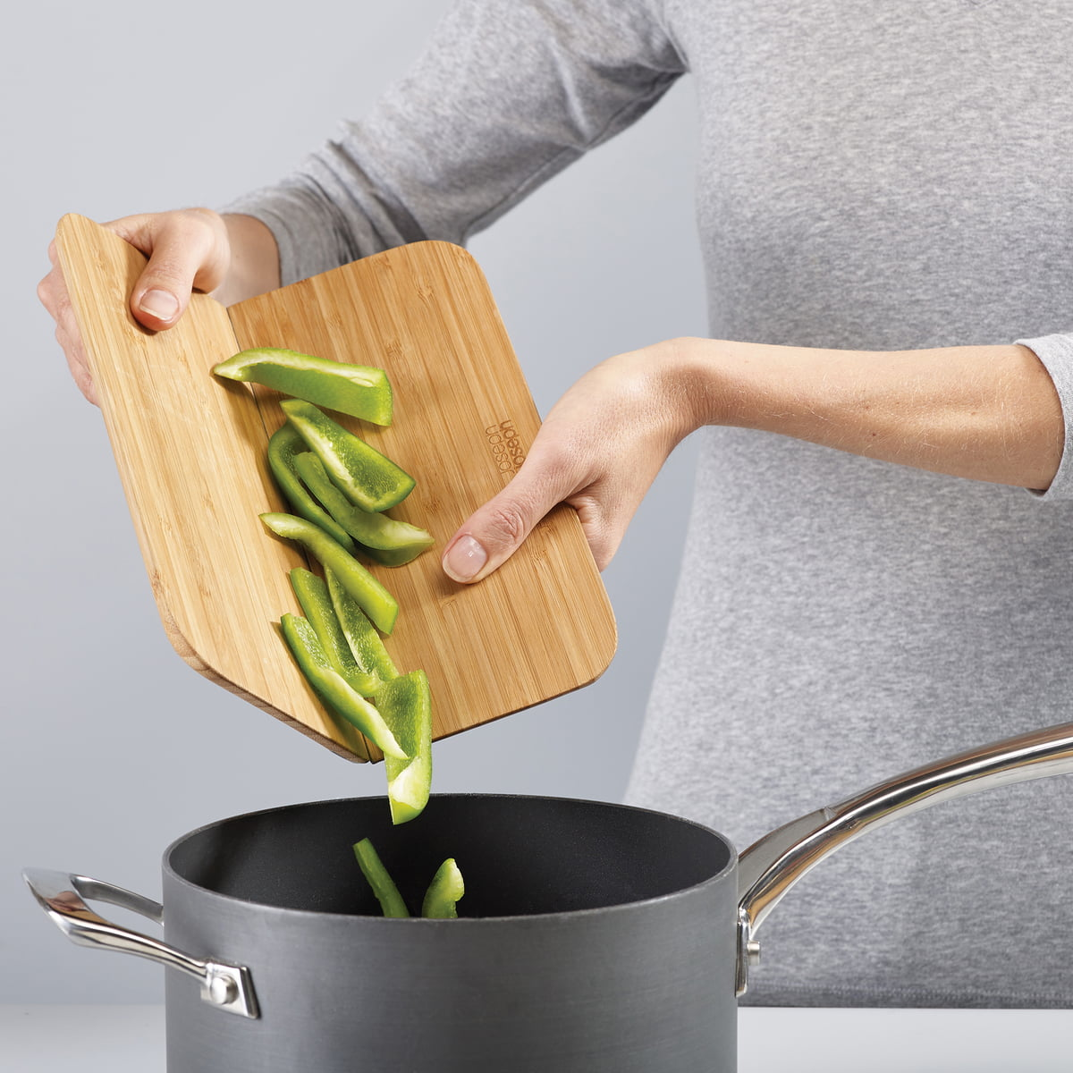 15be3088c0ce Categories · Kitchenware · Cutting Boards · Chop2Pot Bamboo from Joseph  Joseph