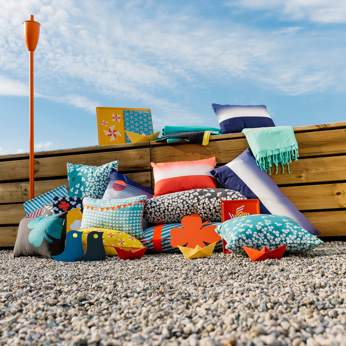 Trèfle Outdoor Cushions From Fermob