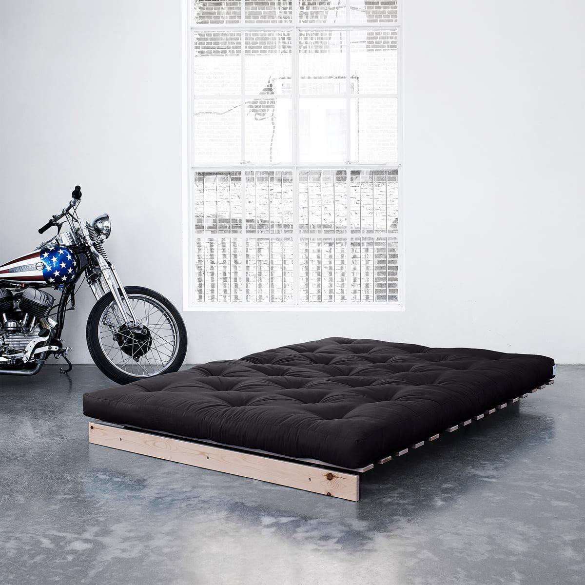Bed 140 Cm.Karup Design Roots 140 Natural Pine Beige 747