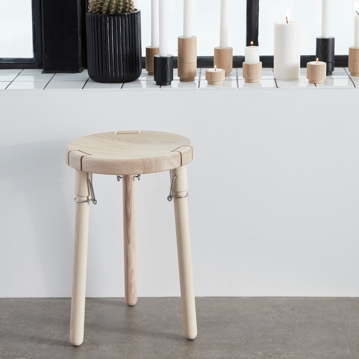 U1 stool by andersen furniture connox for Couch hocker