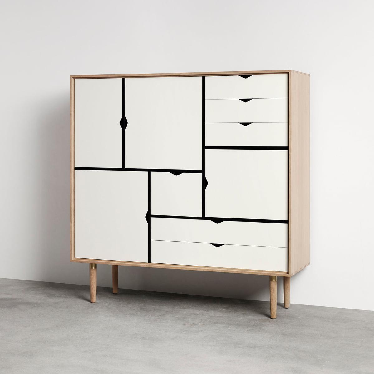 s3 sideboard unicoloured by andersen furniture. Black Bedroom Furniture Sets. Home Design Ideas