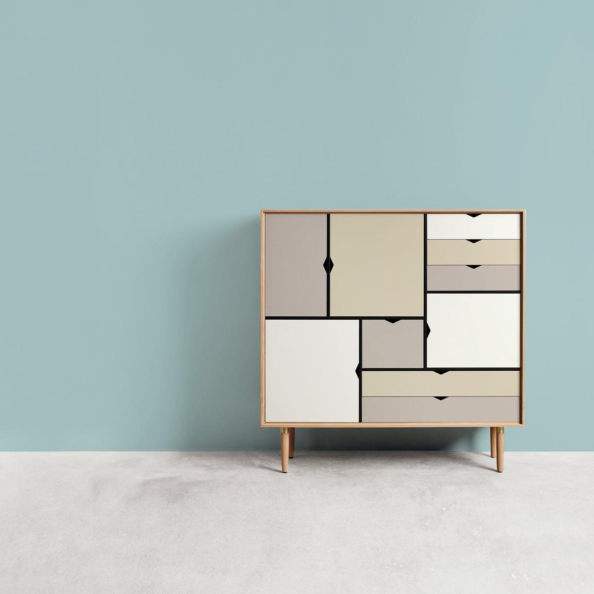 S3 Sideboard multicoloured Andersen Furniture