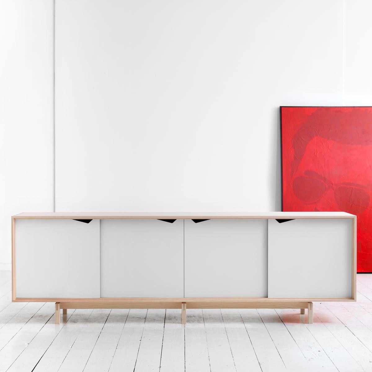 weies sideboard cheap finn juhl diplomat series sideboard in rosewood with aluminum handles. Black Bedroom Furniture Sets. Home Design Ideas