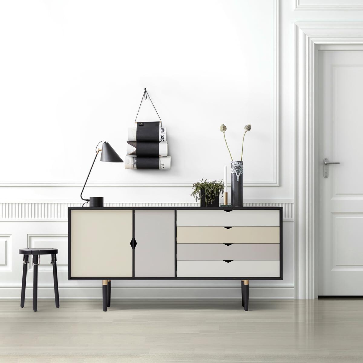 Sideboard Beige s6 sideboard multicoloured andersen furniture