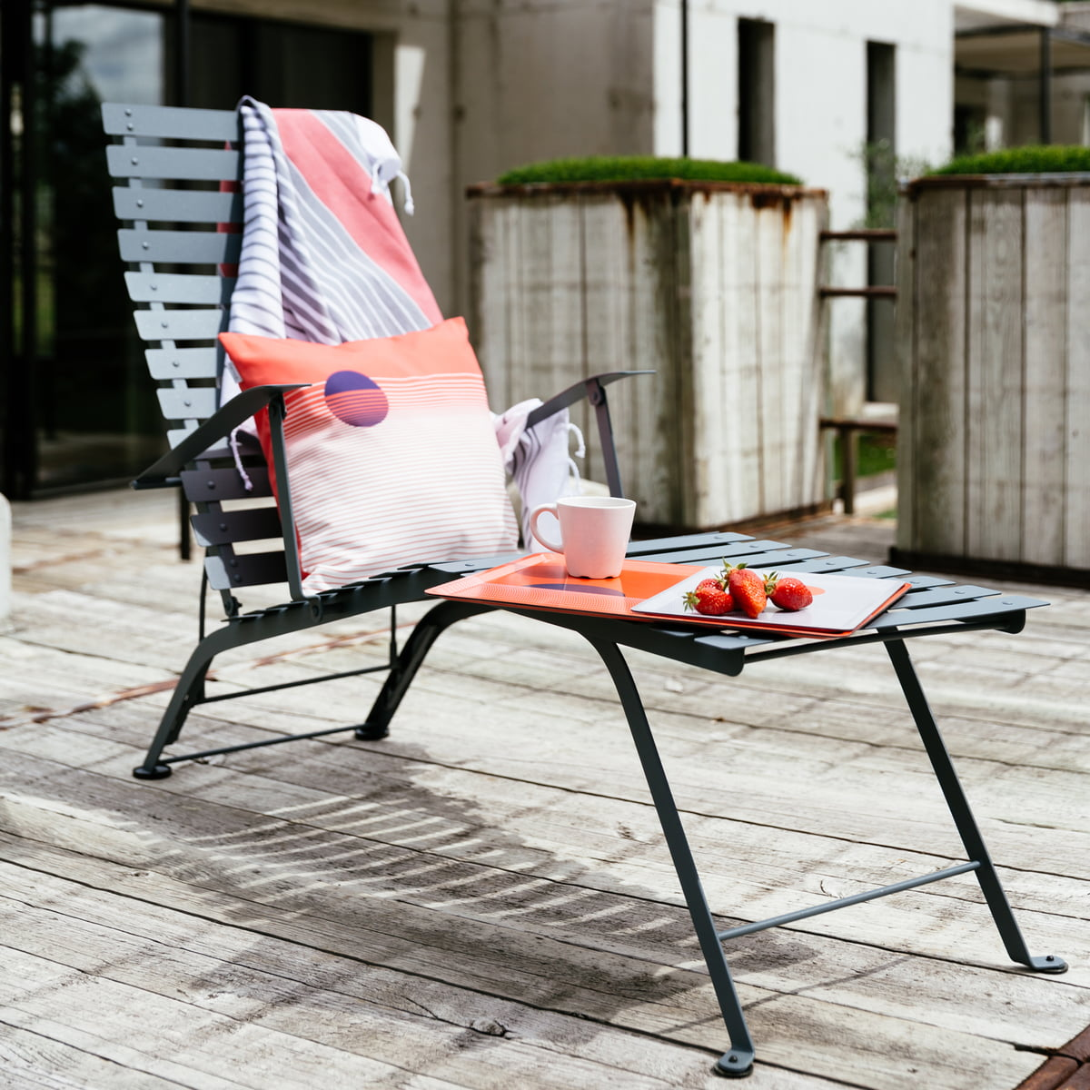 the bistro deckchair by fermob in the design shop. Black Bedroom Furniture Sets. Home Design Ideas