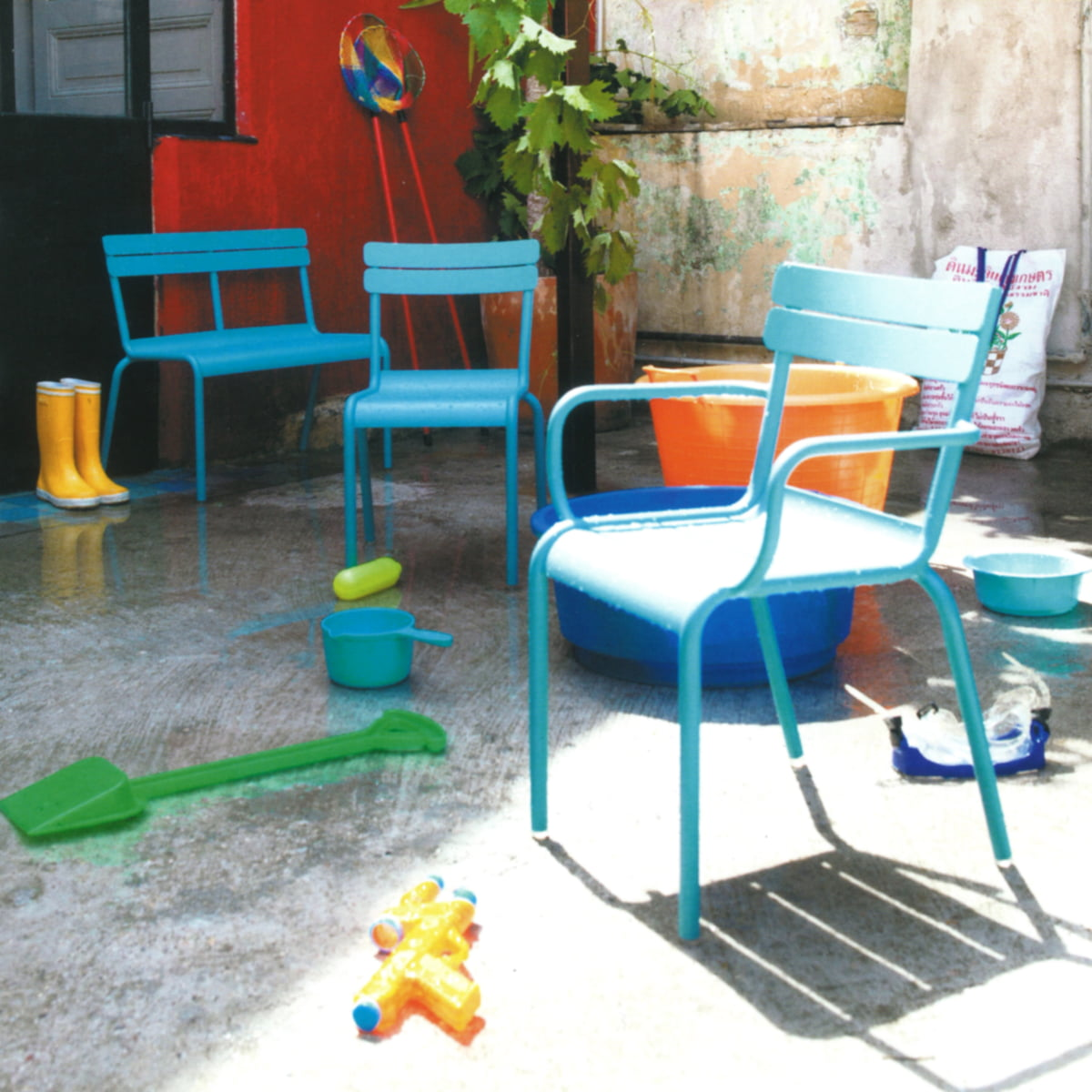 Luxembourg Kids Chair And Bench By Fermob