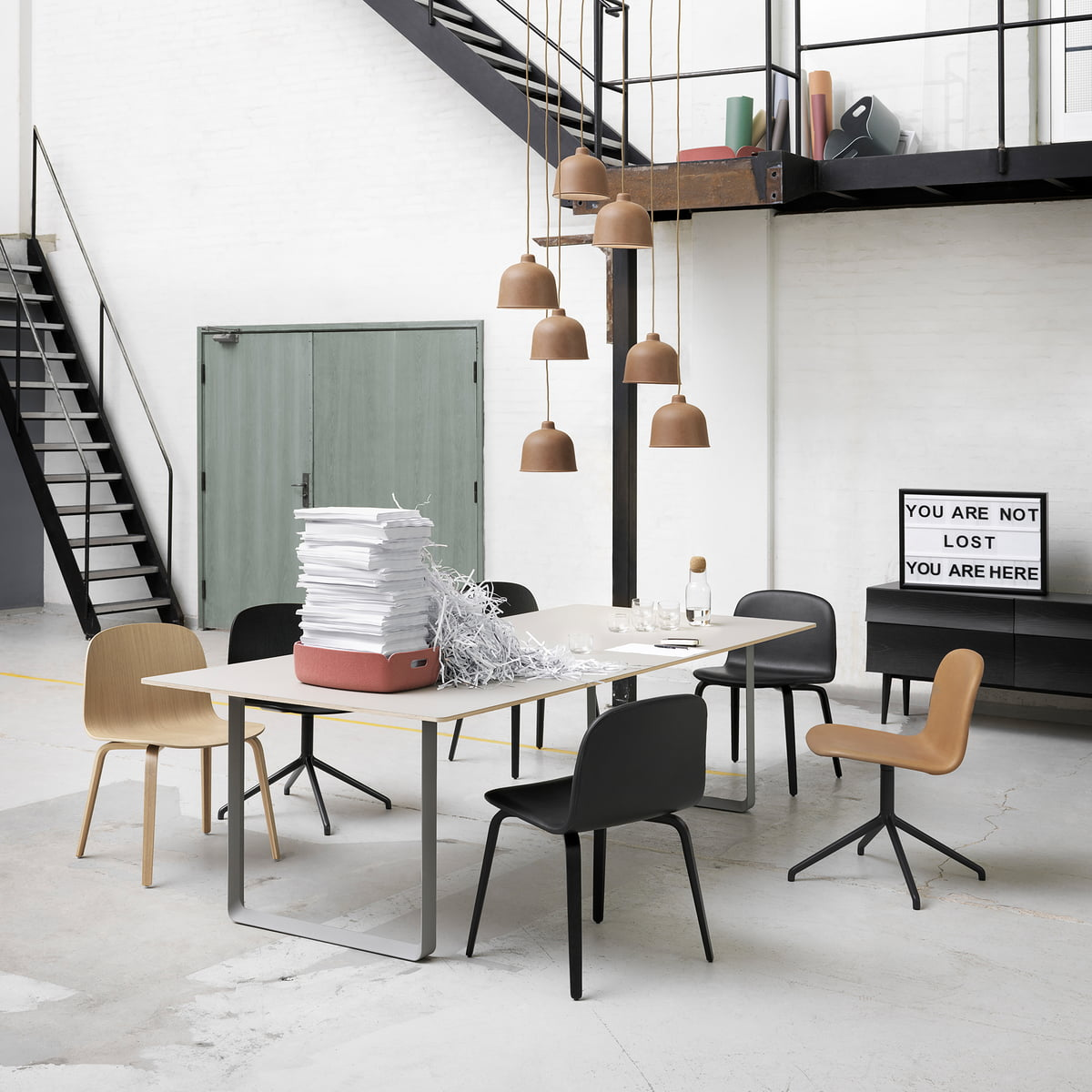 the 70 70 table by muuto in the home design shop. Black Bedroom Furniture Sets. Home Design Ideas