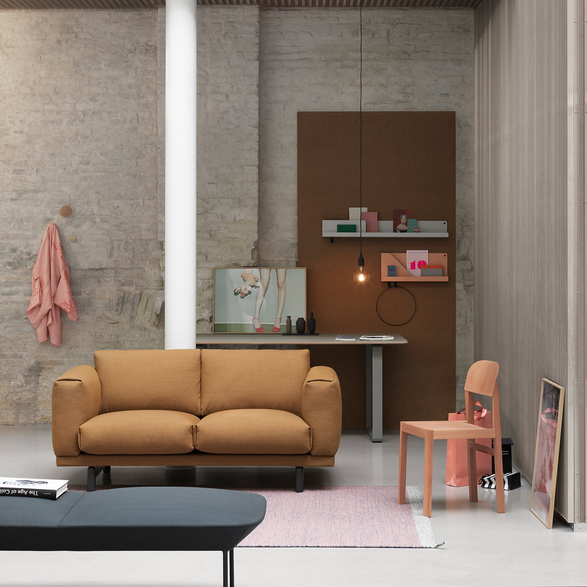 workshop chair by muuto connox shop. Black Bedroom Furniture Sets. Home Design Ideas