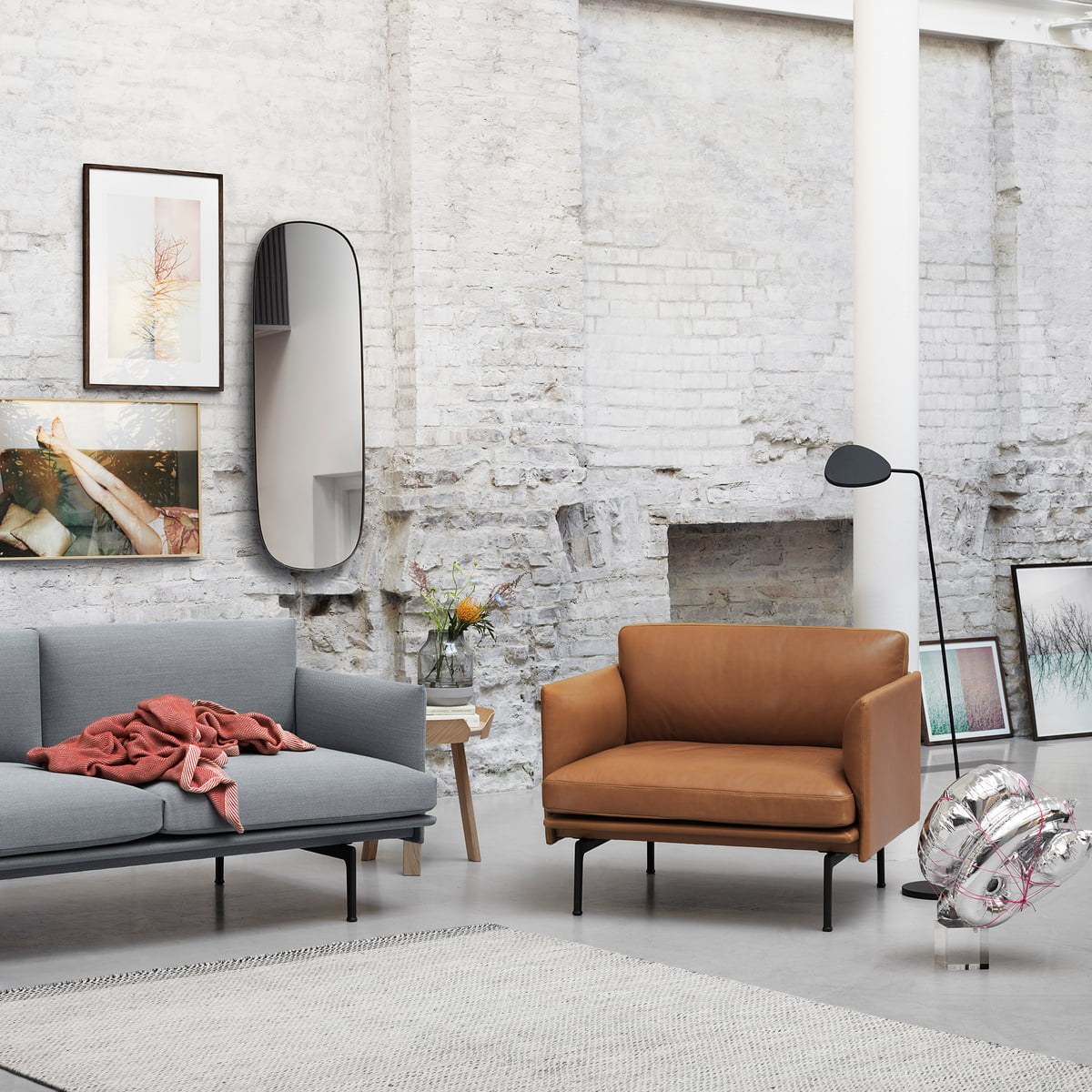 Outline Sofa 2-seater by Muuto in the shop