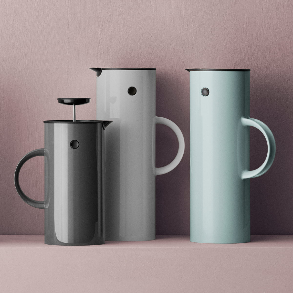 coffee maker 1 l by stelton connox. Black Bedroom Furniture Sets. Home Design Ideas