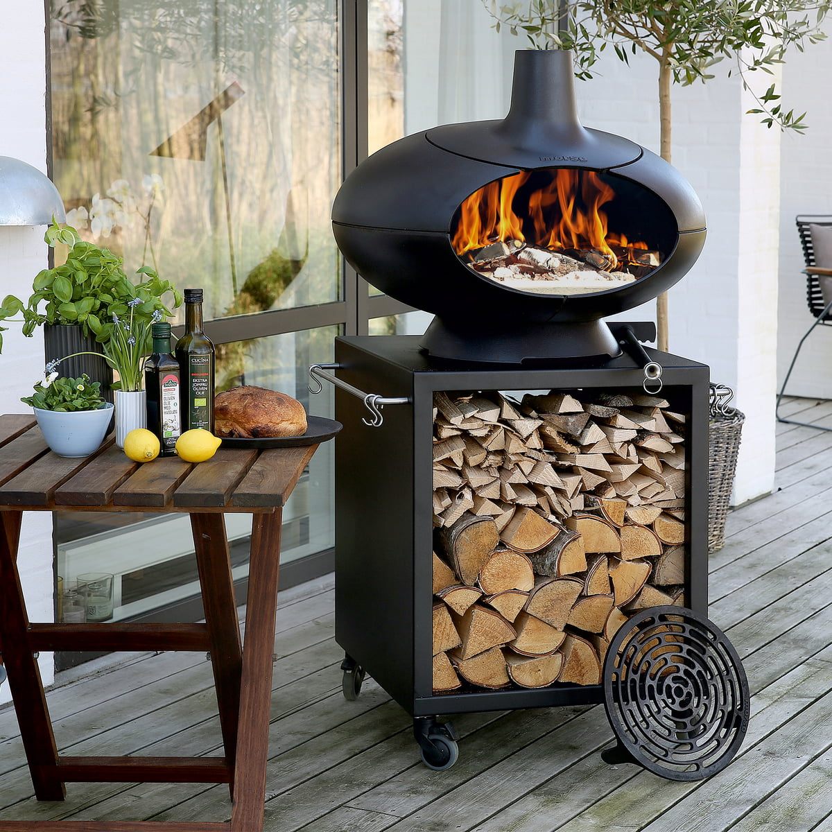 Barbecue And Garden Table From Morsø