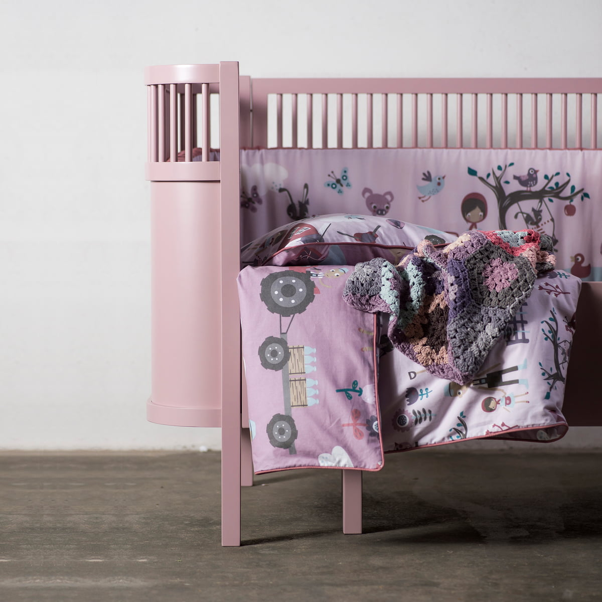 baby bed linen farm by sebra in the shop. Black Bedroom Furniture Sets. Home Design Ideas