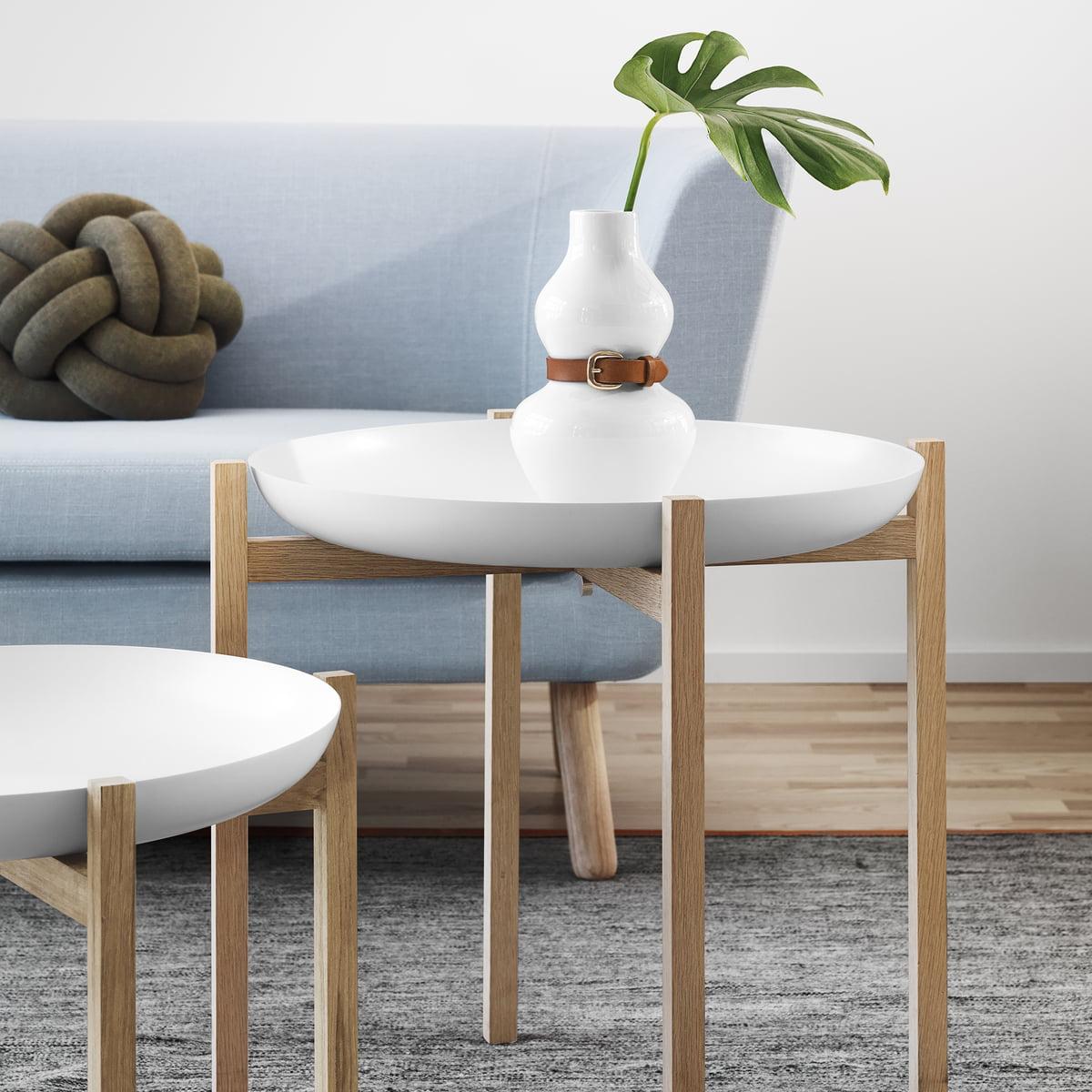 Design House Stockholm Tablo Side Table Oak H 40 Cm