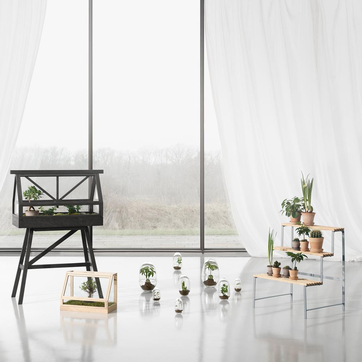 flower pot stand by design house stockholm. Black Bedroom Furniture Sets. Home Design Ideas