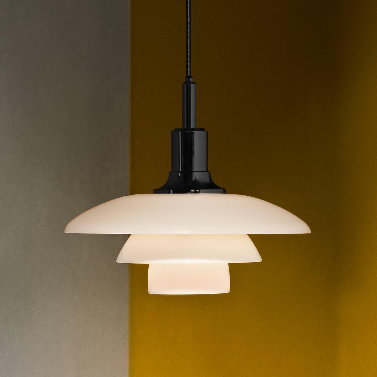 ph 3 pendant lamp by louis poulsen. Black Bedroom Furniture Sets. Home Design Ideas