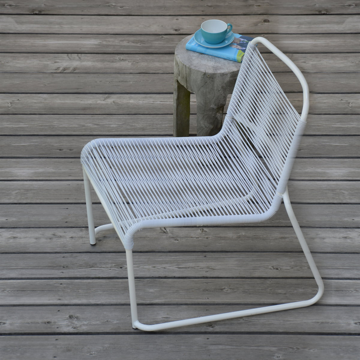 Loungesessel weiss outdoor  Lido Lounge Chair by Fiam | Connox Shop