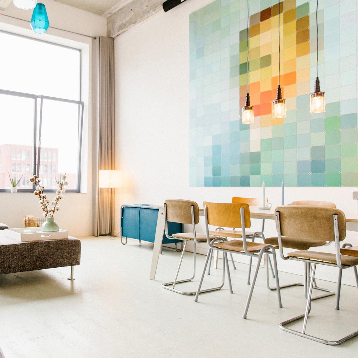 van gogh pixel from ixxi - Pixelated Interior Design