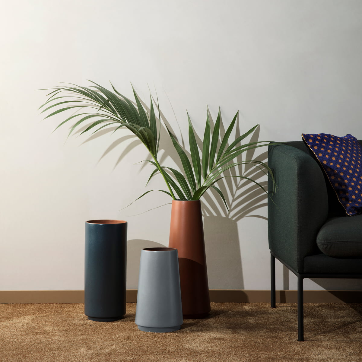 Dual Floor Vase By Ferm Living Connox Shop