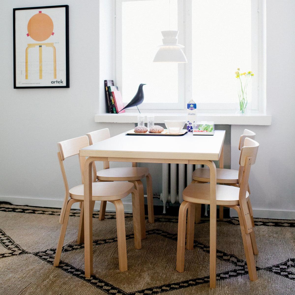 poster stool 60 by artek. Black Bedroom Furniture Sets. Home Design Ideas