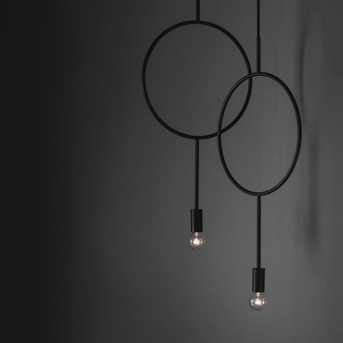 Northern Circle Pendant Lamp Matt Dark Grey