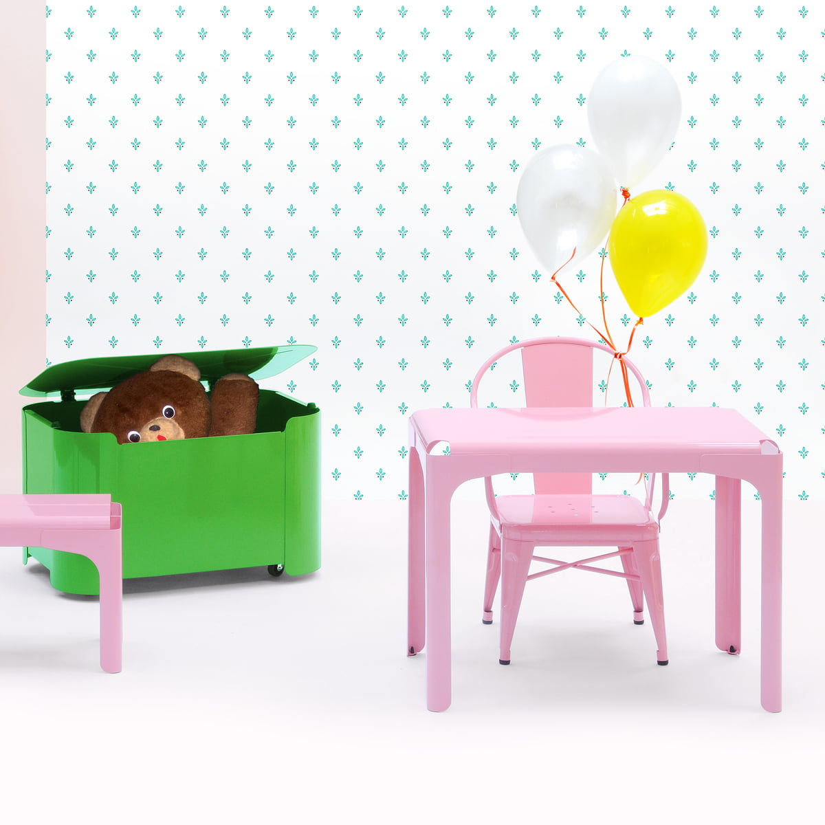 Buy the Rhino kids table by Tolix
