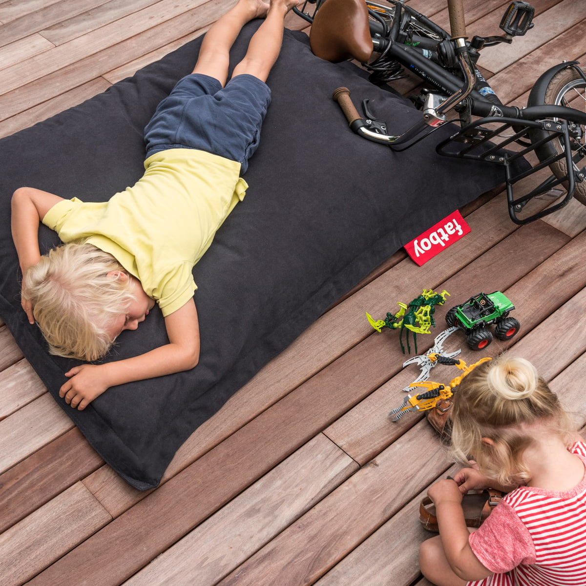 The Junior Beanbag Stonewashed By Fatboy