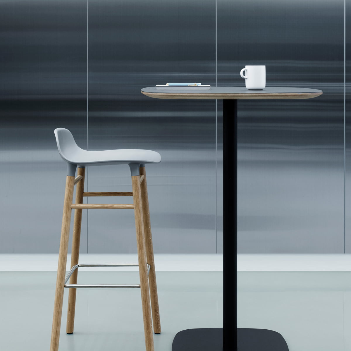 9cb402bb778d Form Standing Table by Normann Copenhagen. Form table 65 cm ...