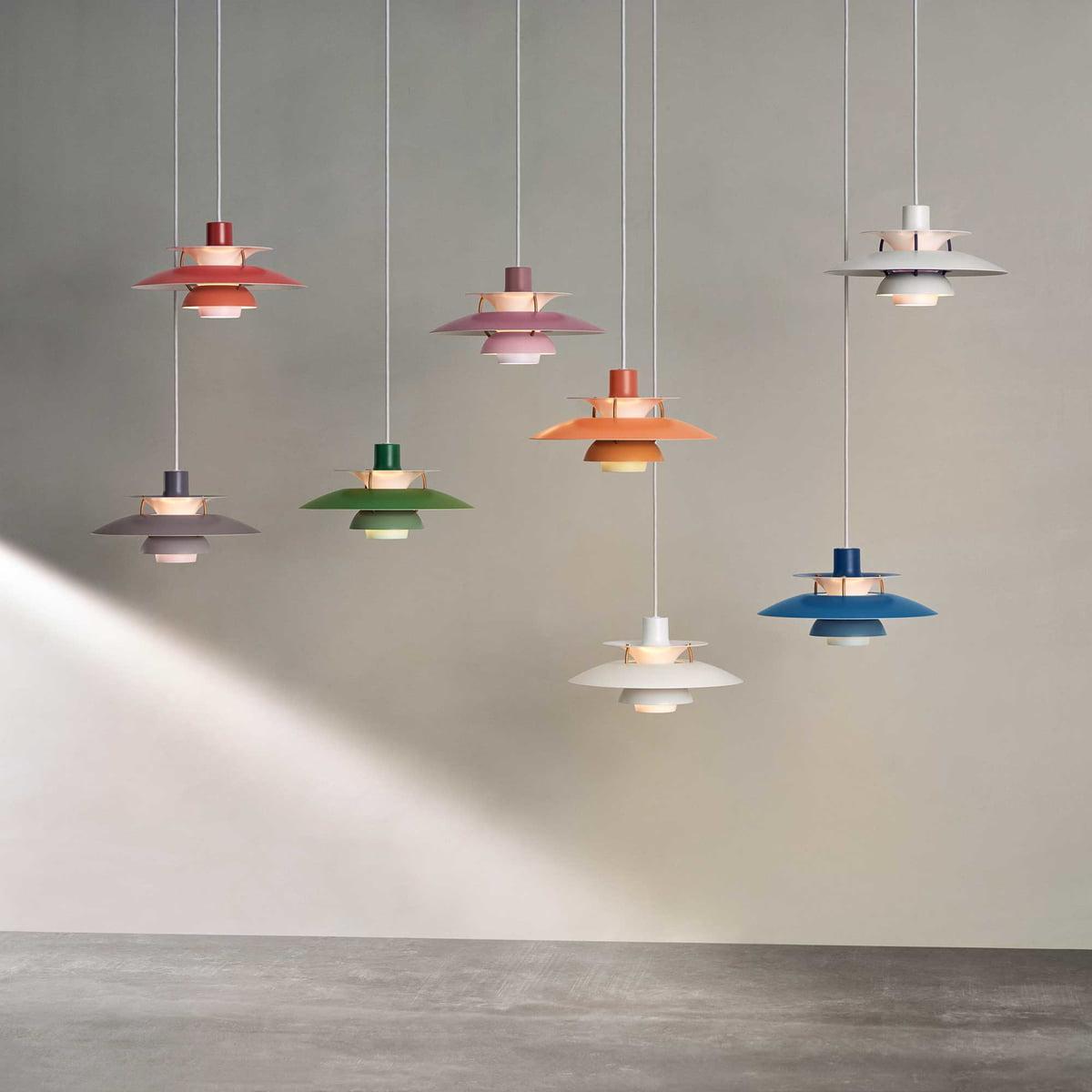 Oppdatert PH 5 Mini Pendant Lamp by Louis Poulsen DP-36