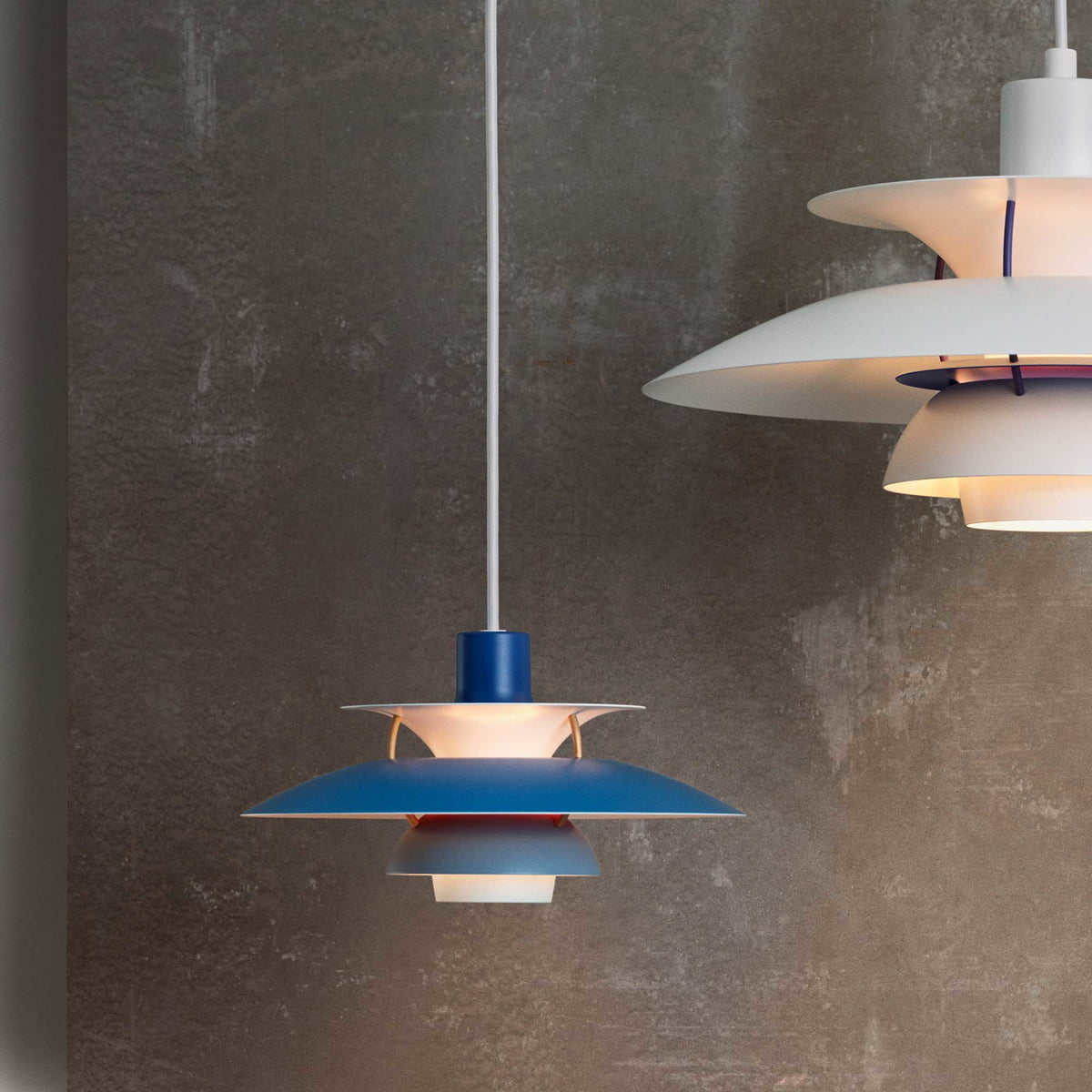 PH Mini Pendant Lamp By Louis Poulsen - 5 pendant light fixture