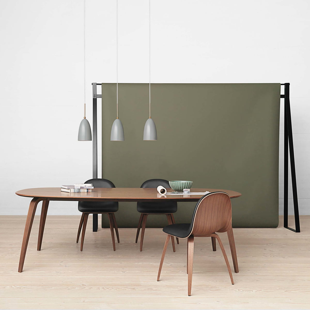 Elliptical dining table by gubi connox shop for M and s dining