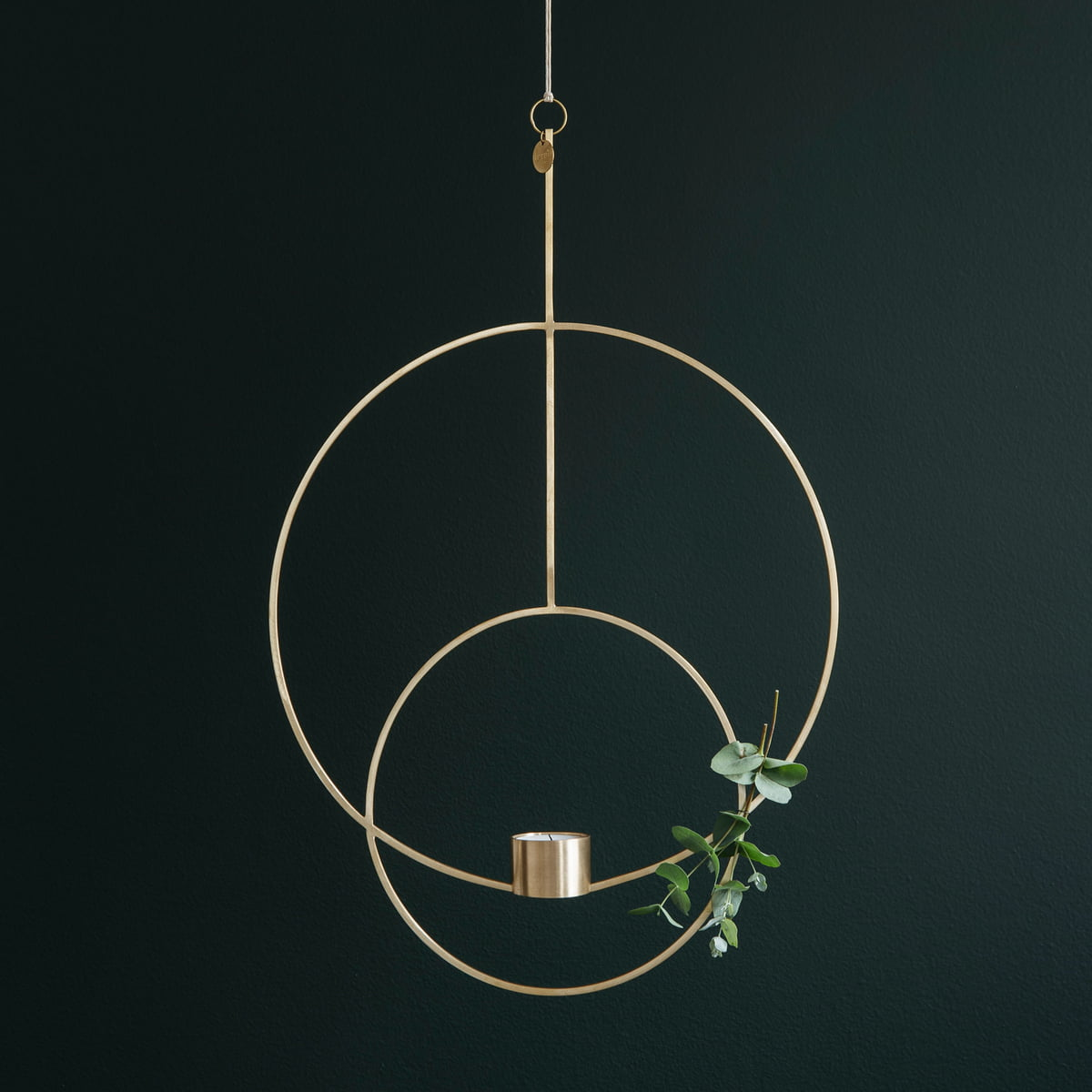 Hanging tealight holder by ferm living round hanging tealight holder by ferm living aloadofball Choice Image