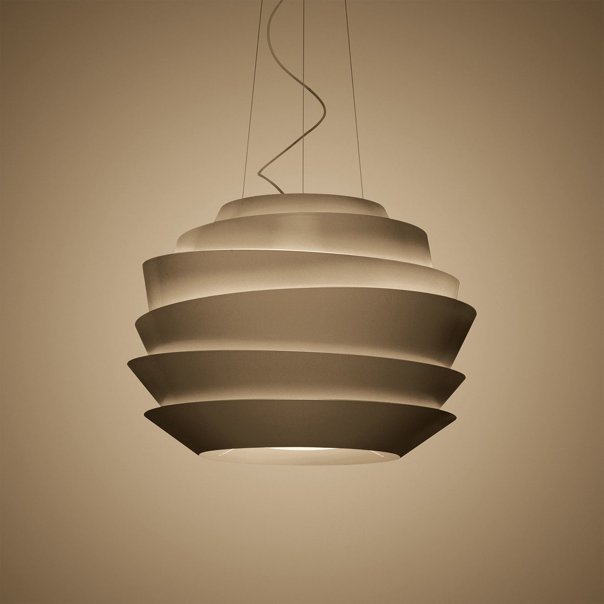 Foscarini le soleil pendant lamp foscarini connox foscarini le soleil pendant lamp led bronze audiocablefo Light shop