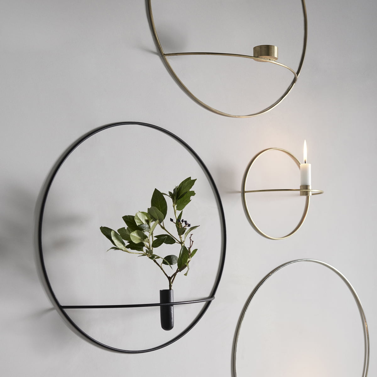 pov circle candleholder by menu connox. Black Bedroom Furniture Sets. Home Design Ideas