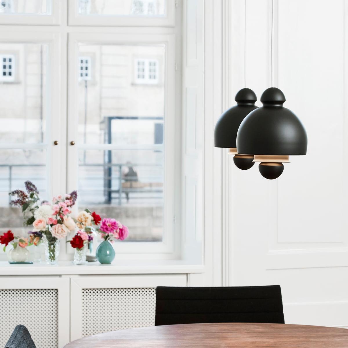 Antoni Pendant Lamp By Le Klint In Royal Black