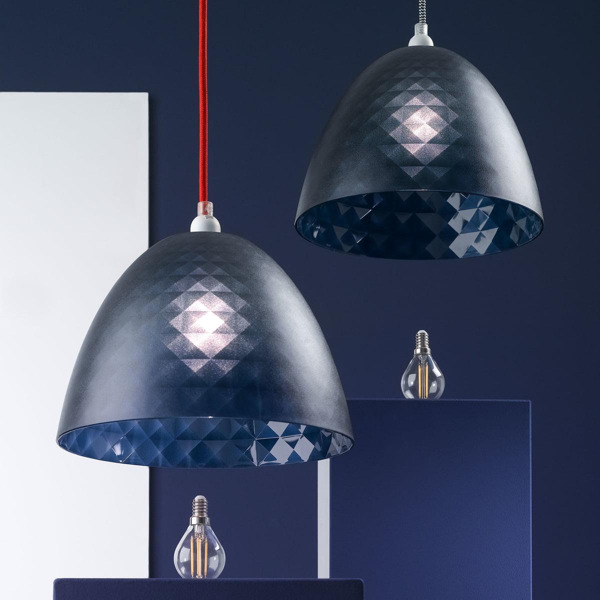 Koziol Hanglamp Stella M.Koziol Stella Silk Lampshade S Transparent Clear