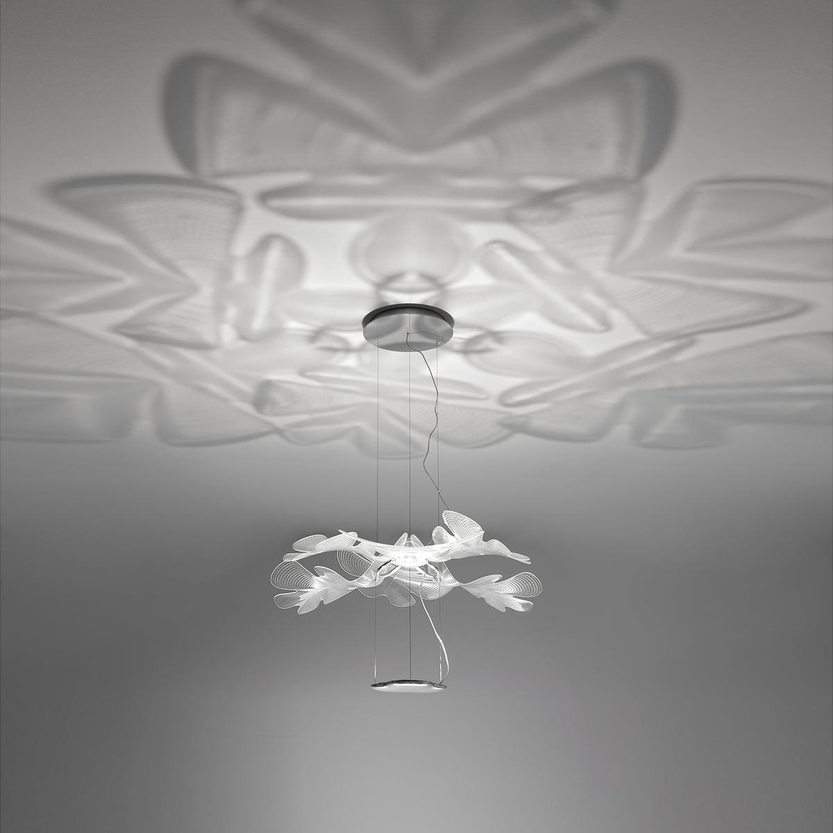 Artemide Chlorophilia Sospensione Led Pendant Lamp Aluminium Grey
