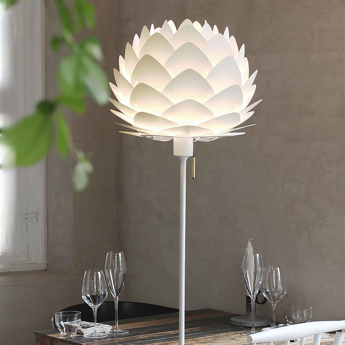 Aluvia L&shade Mini Ø 40 cm by Vita in Pearl & Aluvia Lampshade by Vita   Connox Shop azcodes.com