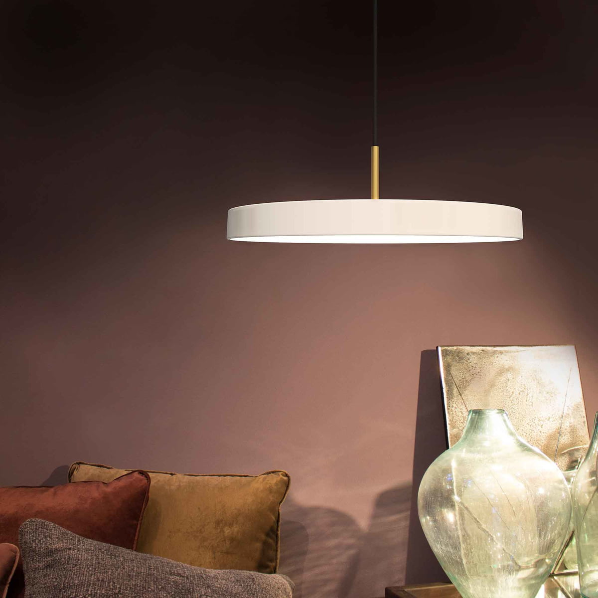 Asteria pendant lamp led by umage connox asteria pendant lamp led by umage in pearl aloadofball Choice Image